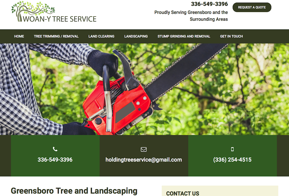 Greensboro Website Design Triad Web Design Greensboro Nc